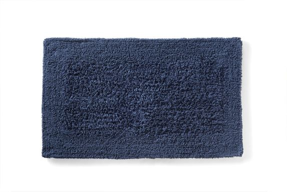 Texmade Cotton Bath Mat, Navy Product image