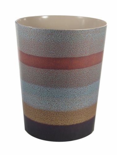 Striped Ceramic Waste Can Product image
