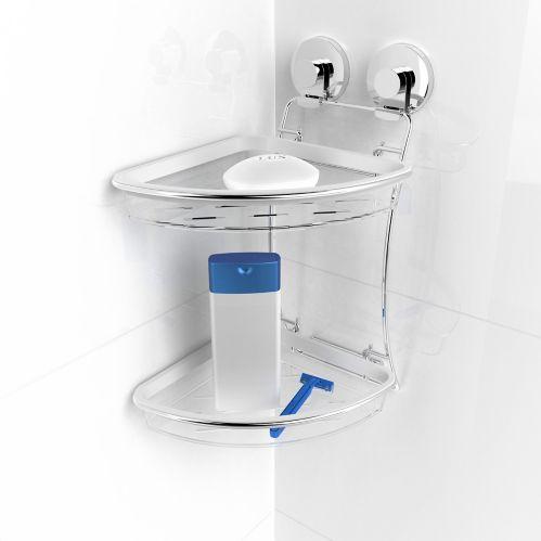 Panier de coin double Expressions, salle de bains