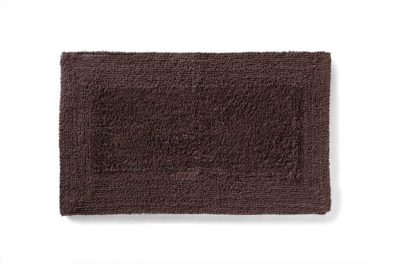 Texmade Cotton Bath Mat, Dark Chocolate Product image