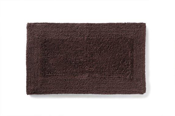Tapis de bain Texmade, chocolat noir