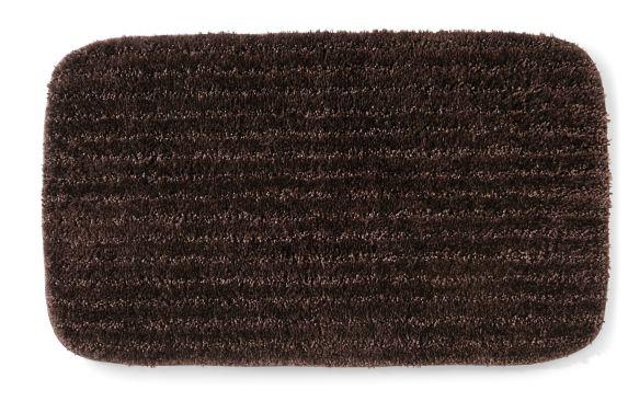 Texmade Nylon Bath Mat, Dark Chocolate Product image