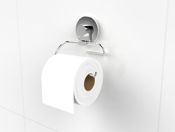 Expressions Bathroom Suction Toilet Paper Holder Product image
