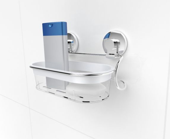 Expressions Bathroom Suction Shelf Product image