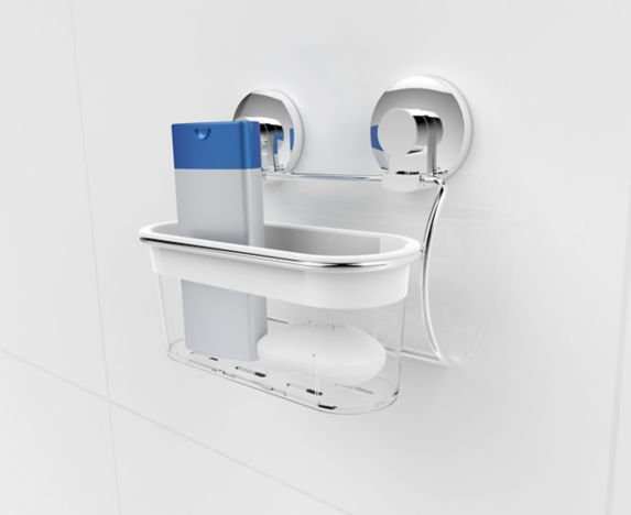 Expressions Bathroom Suction Shower Caddy Product image