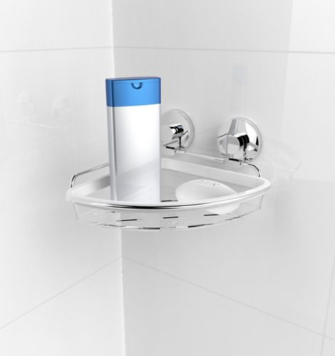 Panier de coin à ventouses Expressions, salle de bains Image de l'article