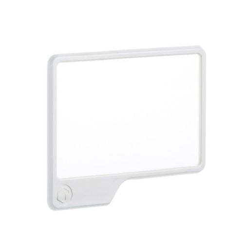 Grand miroir Tooletries Mighty, blanc