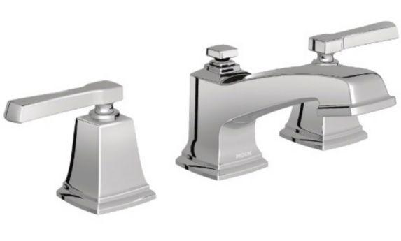 Moen Boardwalk Widespread 2-Handle Lavatory Faucet, Chrome Product image