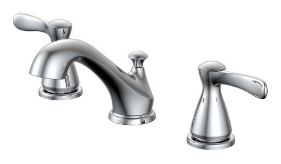 Danze Lakeville Widespread 2-Handle Lavatory Faucet, Chrome Product image