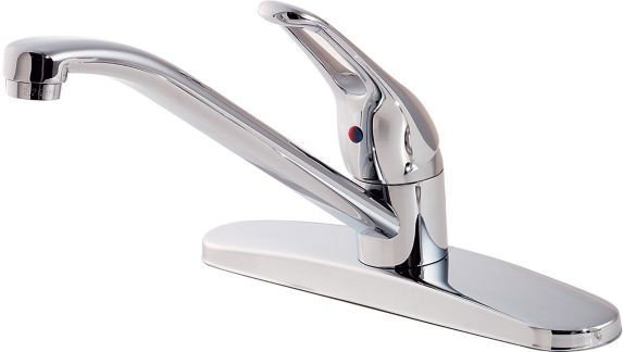 Pfister Classic 1-Handle Kitchen Faucet, Polished Chrome Product image