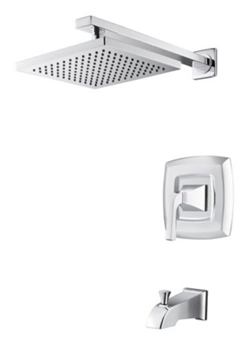 Pfister Vorena Tub & Shower Faucet, Polished Chrome Product image