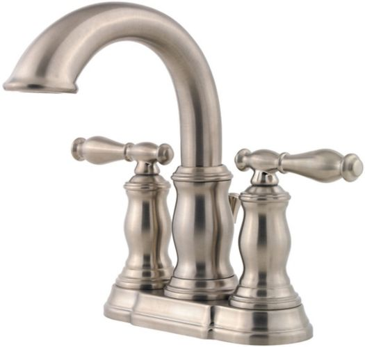 Pfister Hanover 2-Handle Lavatory Faucet, Brushed Nickel Product image