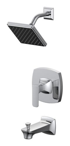 Danze Aztek Tub & Shower, Chrome Product image