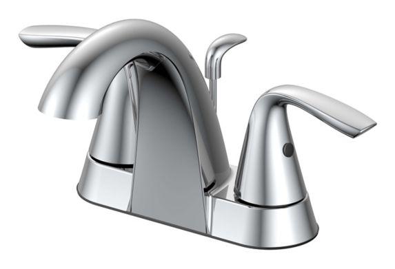 Robinet de lavabo à 2 leviers Danze Gallant, chrome Image de l'article
