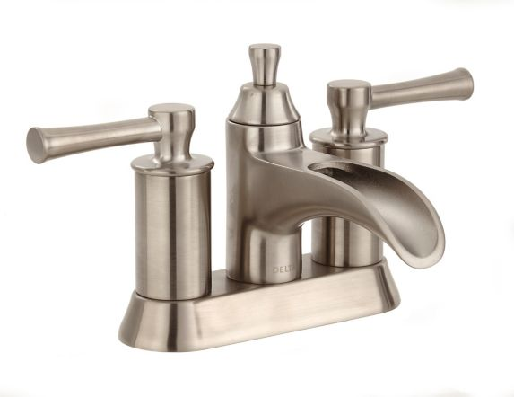 Delta Dawson 2-Handle Lavatory Faucet, Brushed Nickel Product image
