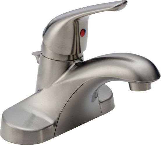 Delta Principals 1-Handle Lavatory Faucet, Brushed Nickel Product image