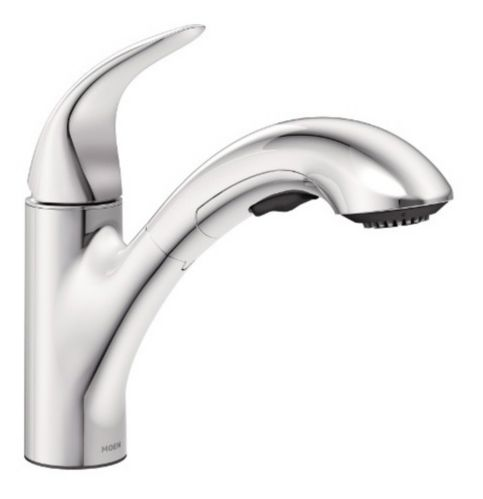 Moen Medina 1-Handle Pull-Out Kitchen Faucet, Chrome Product image