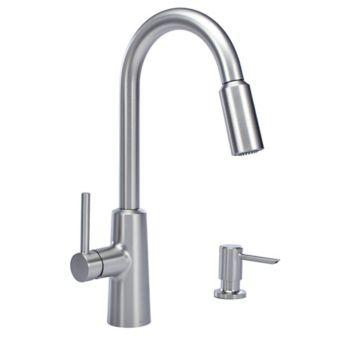 Moen Nori 1 Handle Pull Down Kitchen Faucet Chrome