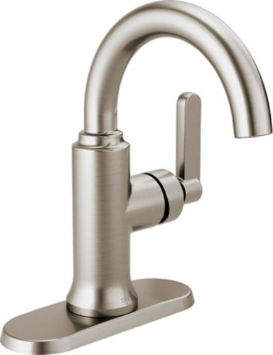 Delta Alux 1-Handle Lavatory Faucet, Brushed Nickel Product image