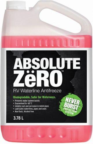 Antigel pour système d'eau Absolute Zero, -60°C, 3,78 L Image de l'article
