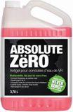 Antigel pour système d'eau Absolute Zero, -60°C, 3,78 L | AbsoluteZeronull