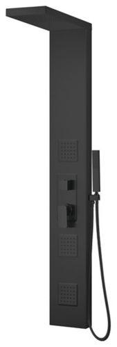 Danze Shower Column, Matte Black Product image