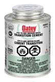 Oatey Transition ABS/PVC Cement, White, 237-mL | Oatey Canadanull