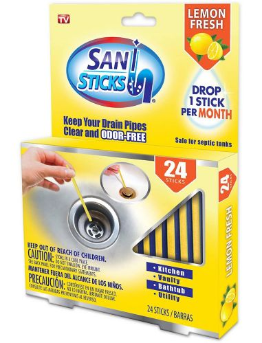 Drain Pipe Cleaner Sani Stick, Lemon Scented Product image