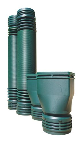 Mole Pipe Downspout Extension Value Kit, 6-ft, 2-pk Product image