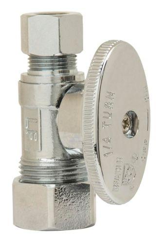 Mini robinet PlumbShop, 5/8 diam. extérieur x 3/8 diam. ext. Image de l'article