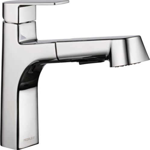 Peerless Xander 1-Handle Pull-Out Kitchen Faucet, Chrome