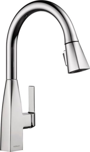 Peerless Xander 1-Handle Pull-Down Kitchen Faucet, Chrome Product image