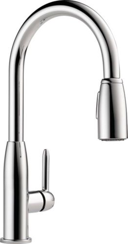 Peerless Tunbridge 1-Handle Pull-Down Kitchen Faucet, Chrome Product image