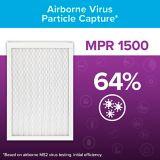 3M™ Filtrete™ Healthy Living Ultra Allergen Filter, MPR 1500, 16-in x 20-in x 1-in, 2-pk | Filtretenull