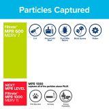 Filtre pour réduction de la poussière 3M Filtrete, milieu de vie pur, MPR 600, 16 x 25 x 1 po, paq. 2 | Filtretenull