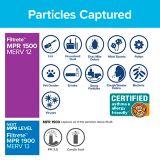 3M™ Filtrete™ Healthy Living Ultra Allergen Filter, MPR 1500, 20-in x 25-in x 1-in, 2-pk | Filtretenull