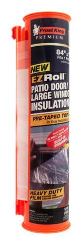Pellicule isolante thermorétractable pour porte-fenêtre/grande fenêtre Frost King Image de l'article