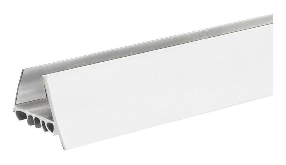 Frost King Vinyl Slide On U Shaped Door Bottom White 1 3 4 In X 36 In Canadian Tire