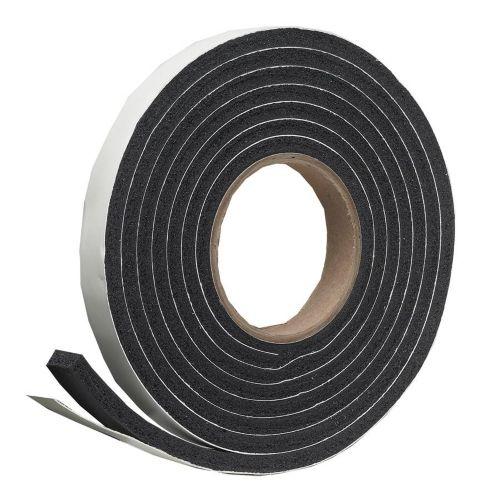 Frost King Rubber Foam Tape, Black, 3/8-in x 10-ft Product image