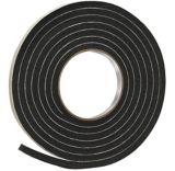 Frost King Rubber Foam Tape, Black, 3/8-in x 5/16-in x 10-ft   Frost Kingnull