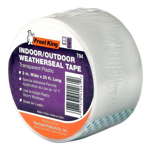 Frost King Clear Weather Seal Tape, 2-in x 25-ft Product image