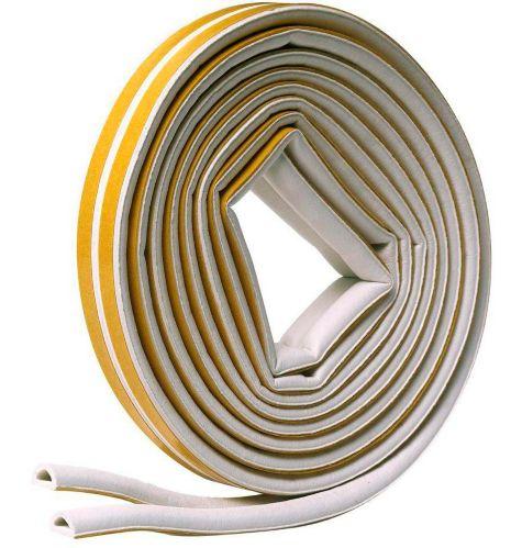 """Ruban-mousse en EPDM Frost King, en D, blanc, 1/4"""" x 17' Image de l'article"""