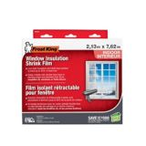 """Pellicule isolante thermorétractable Frost King, 84"""" x 25' 