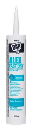 Calfeutrant au latex DAP Alex Fast Dry, 300 mL Image de l'article