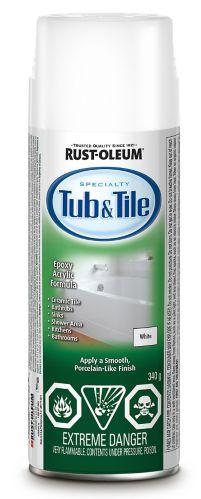 Fini Rust-Oleum Tub & Tile, aérosol, 240 g Image de l'article