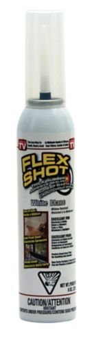 Flex Shot Rubber Adhesive Sealant, White, 8-oz Product image