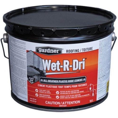 Répare-toit Gardner Wet-R-Dri, 10 L