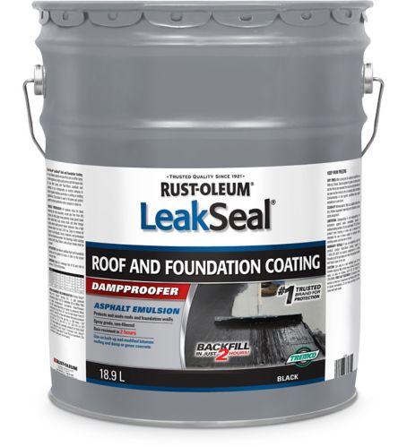 Rust-Oleum LeakSeal® Roof & Foundation Coating, 18.9-L Product image