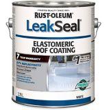 Rust-Oleum LeakSeal® 7 Year Elastomeric Roof Coating, White, 3.78-L | Rust-Oleumnull