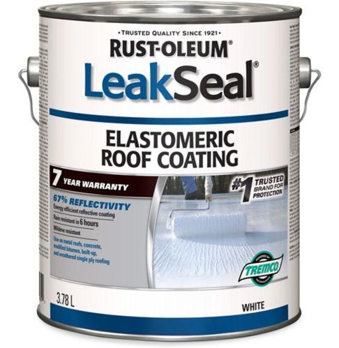 Rust-Oleum LeakSeal® 7 Year Elastomeric Roof Coating, White, 3.78-L Product image